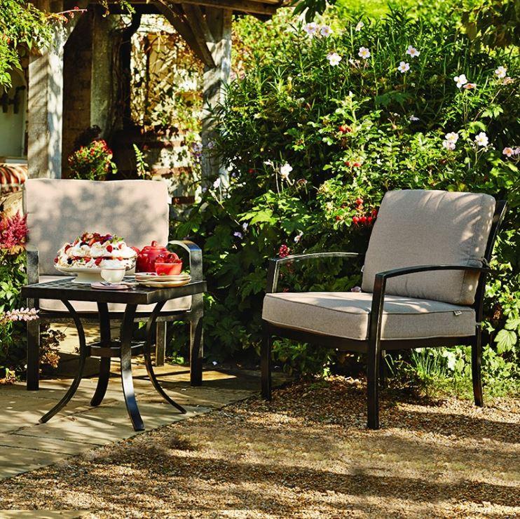 metal wooden garden furniture bypass nurseries garden. Black Bedroom Furniture Sets. Home Design Ideas